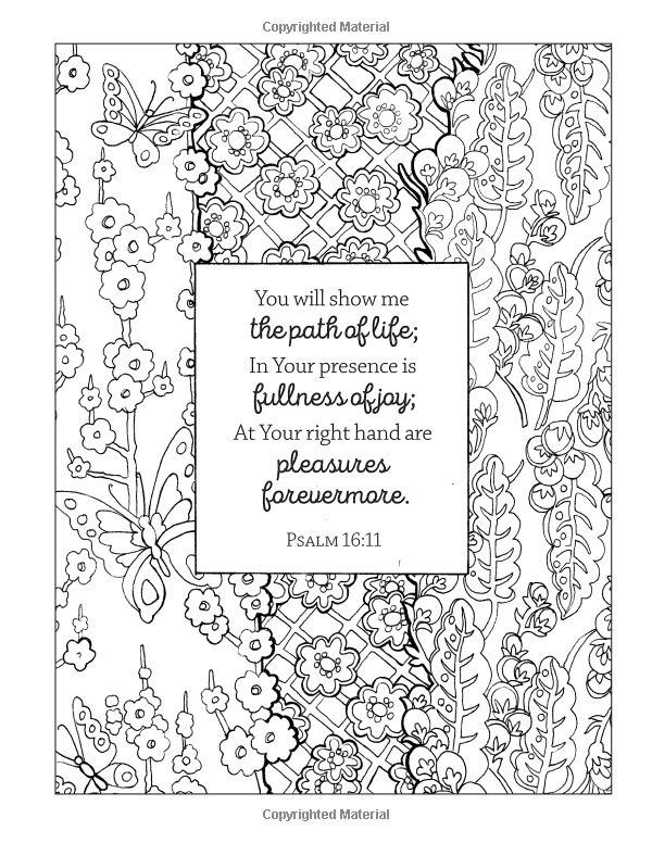 Color the Psalms: An Adult Coloring Book for Your Soul ...