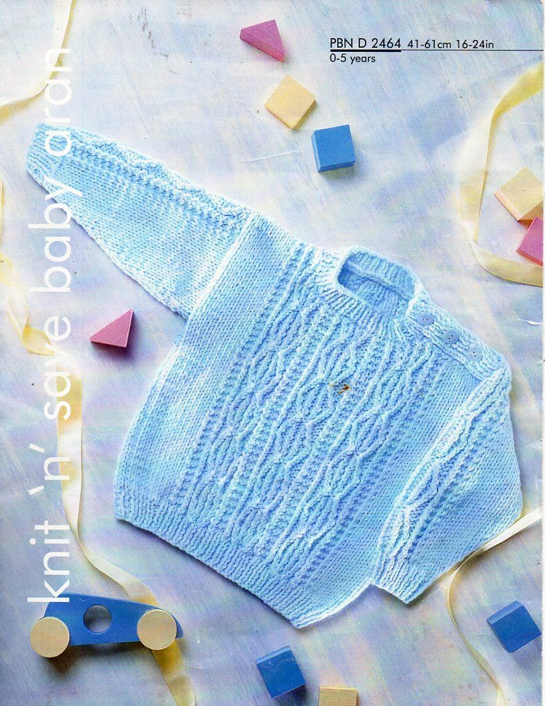 eeae7387f Baby childs aran cable sweater knitting pattern pdf cable panel ...