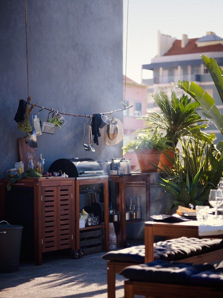 un été en bleu chez ikea - planete deco a homes world | patio