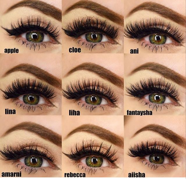 Pin by veronica ordaz on pestanas (With images) | Eyelash ...