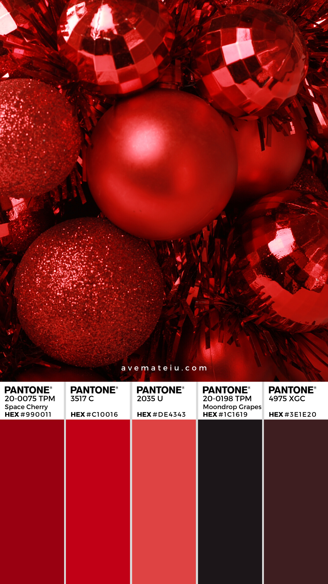 Christmas Background Instagram Pantone Color Palette 359 #christmasbackgrounds