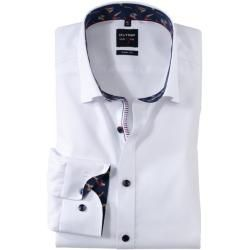 Photo of Olymp Level Five shirt, body fit, under-button-down, white, 42 Olymp
