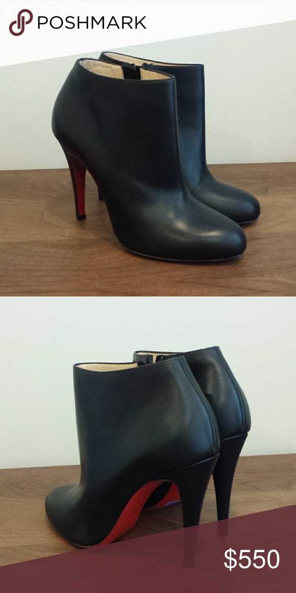 sale retailer 0d958 ee3a6 New Christian Louboutin Belle Round Toe Bootie Brand new ...