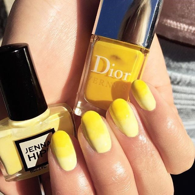 Yellow Nail Design Ideas 2015 2016, Picture 11