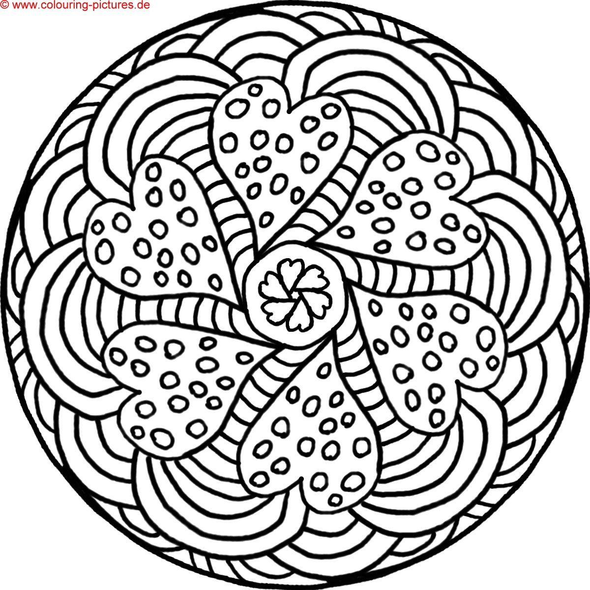 mandalas zum ausdrucken | mandala & zentangle art | Pinterest ...
