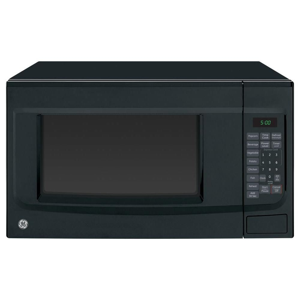 Ge 1 4 Cu Ft Countertop Microwave In Black Jes1460dsbb