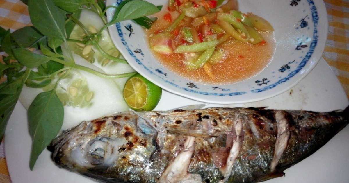 Resep Ikan Bakar Sambal Dabu Dabu Khas Manado Oleh Siska Komala Sari Resep Resep Ikan Bakar Ikan Bakar Resep Ikan
