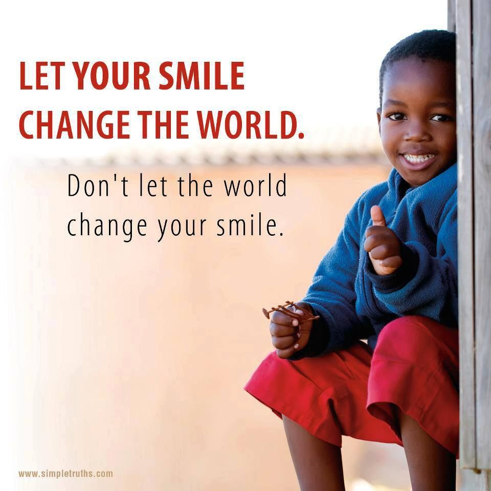 Smile, it just might change the world. #DeltaDental