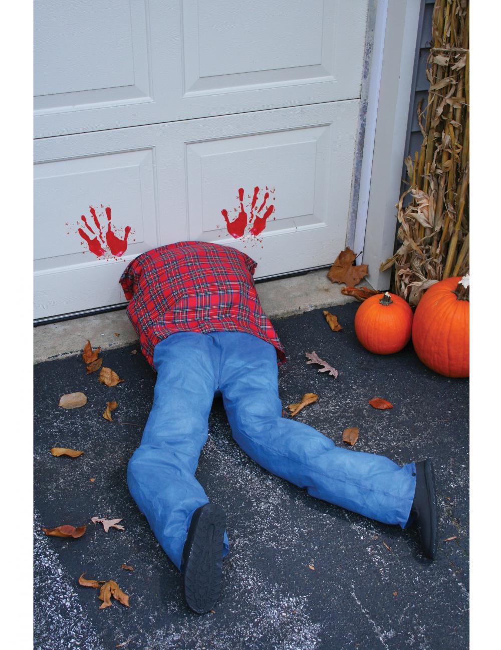 Gekopfter Leichnam Halloween Dekoration Blau Rot Gunstige Halloween Partydeko Bei Horrorklinik Der Grosste Ha Halloweendeko Partydeko Halloween Selber Machen