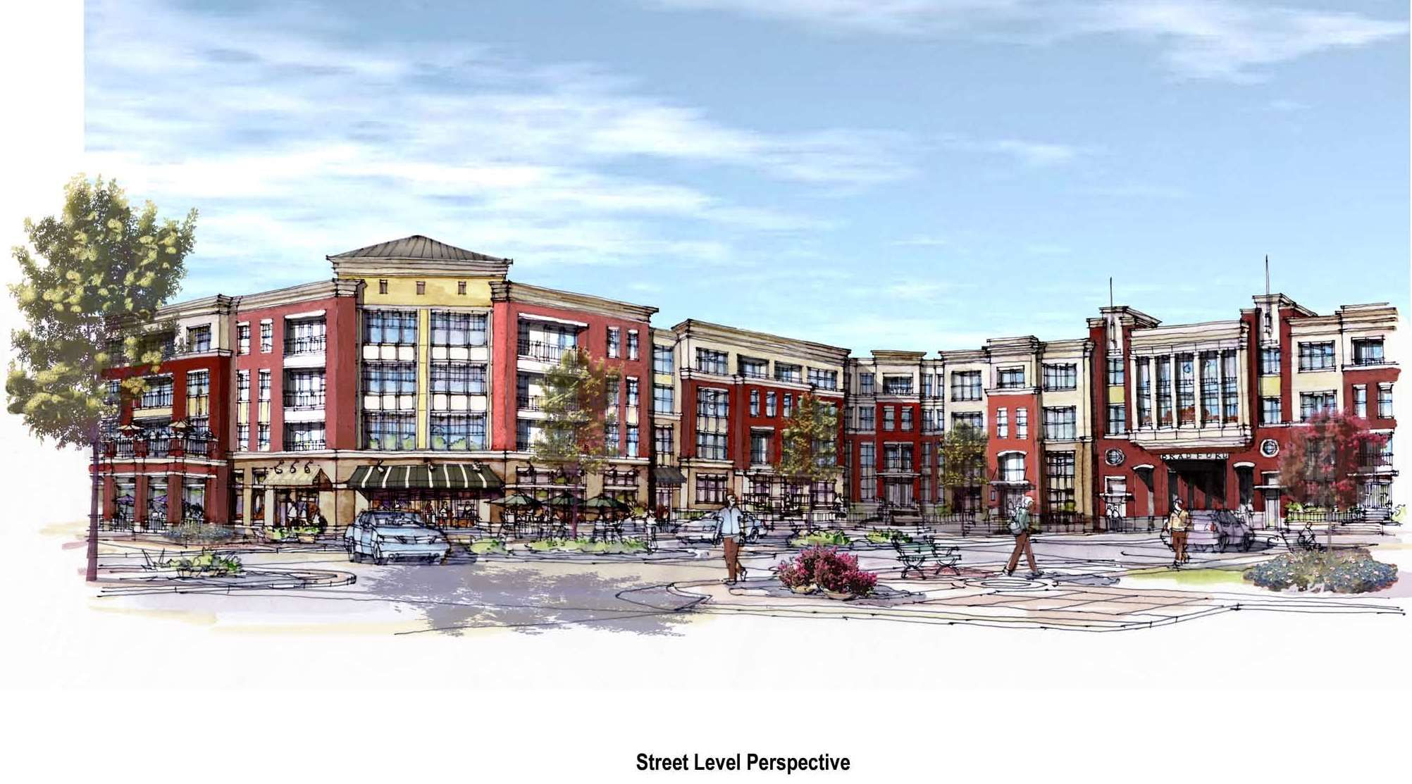 The Bradford Luxury Apartments Townhomes Cary North