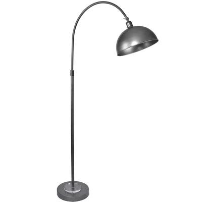 Grandview Gallery Vintage 63 5 Quot Arched Floor Lamp Finish Vintage Metal Floor Lamp Arc Floor