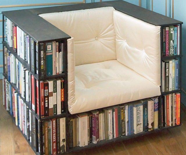 bookcase-chair-leather _ 연관성 높은 수납방식 .. 그럼 식탁엔 그릇이 .. 침대엔 옷서랍 .. 변기엔 휴지 .. 세면대엔 샴푸와비누 ...