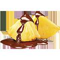 un gusto inebriane cioccolata fondente al gusto di ananas ASSOLUTAMENTE DA PROVARE