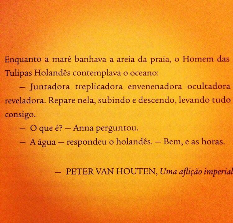 Frase Do Escritor Ficticio Peter Van Houten Livro A Culpa E Das