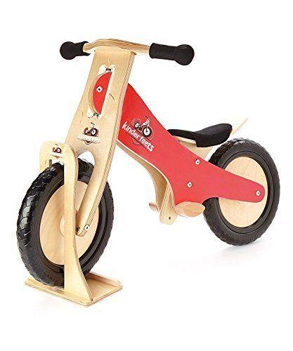 Amazon Com Kinderfeets Balance Bike Sports Outdoors Wooden Balance Bike Balance Bike Wooden Bike