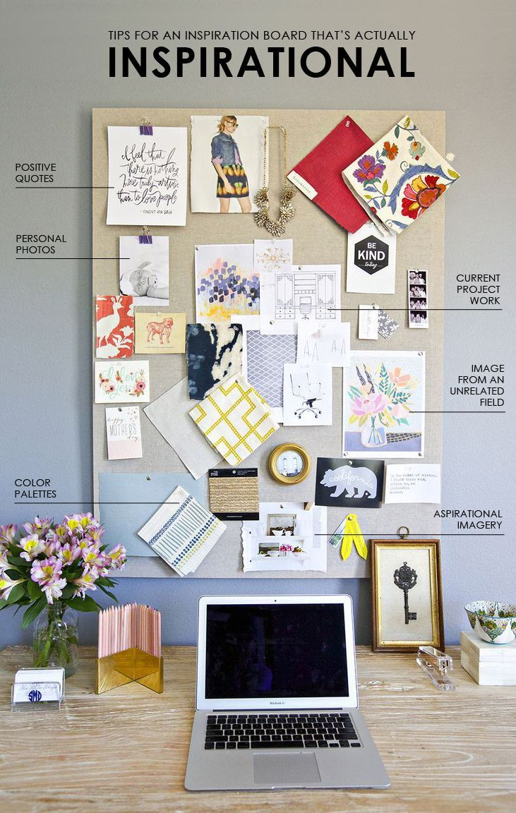 Tips for creating an inspiration board thats actually