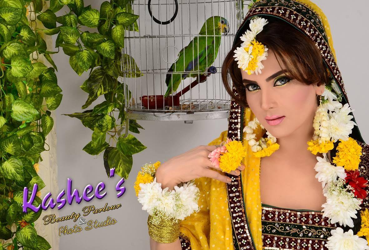 Kashee S Mehndi Makeup : Mayoo n bride by kashee s beauty parlour bridal makeup