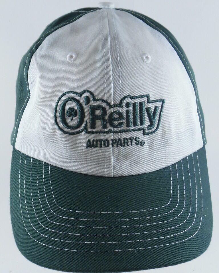 c9b915e06b1 O Reilly Auto Parts Strapback Adjustable Cap Hat Green White Clover 100%  Cotton  OReillyAutoParts  BaseballCap