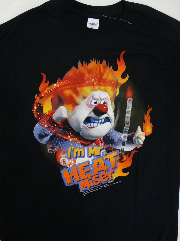 Youth HEAT MISER Christmas T Shirt Holiday T-Shirt
