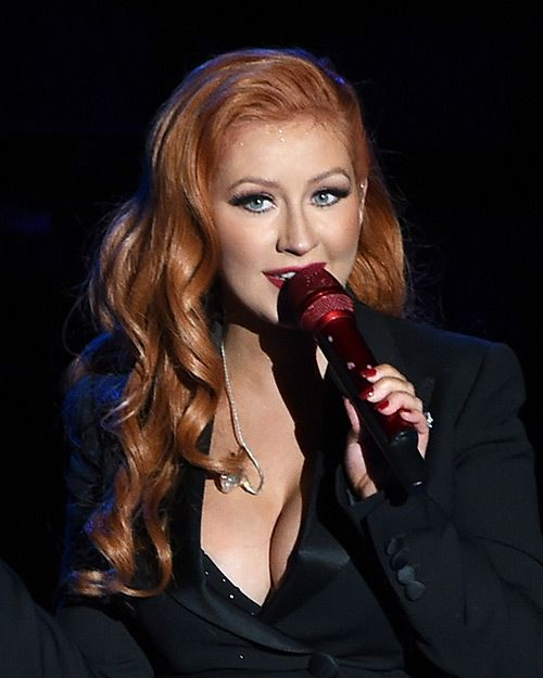 You Have to See Christina Aguilera's Major Hair-Color ...