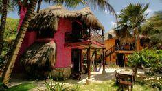 La Posada ecológica Dos Ceibas en #Tulum, es un lugar sagrado que honra y respeta la tranquilidad, la naturaleza y la armonía de su espíritu. Te recomendamos este lugar en tu visita a #MayaKaan. http://dosceibas.com/home.php