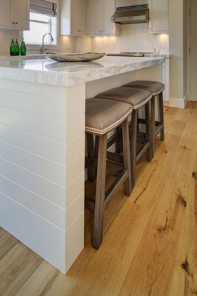 Kitchen Island Knee Wall converting a two tier island into a one level island | kitchen