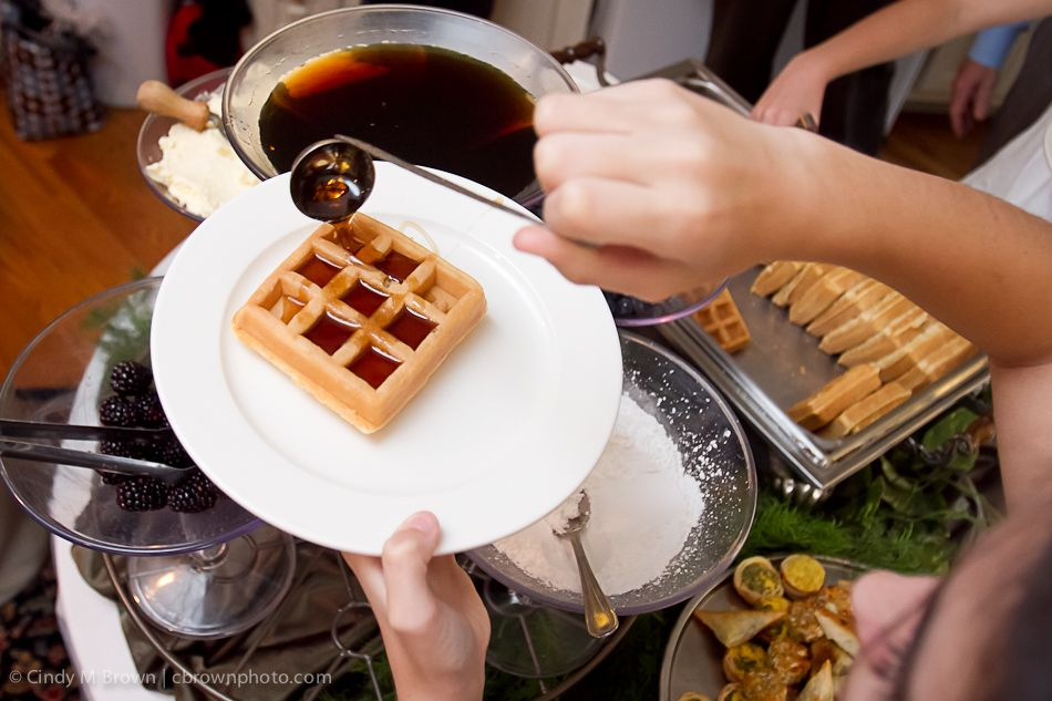 waffle bar? This would be awesome.