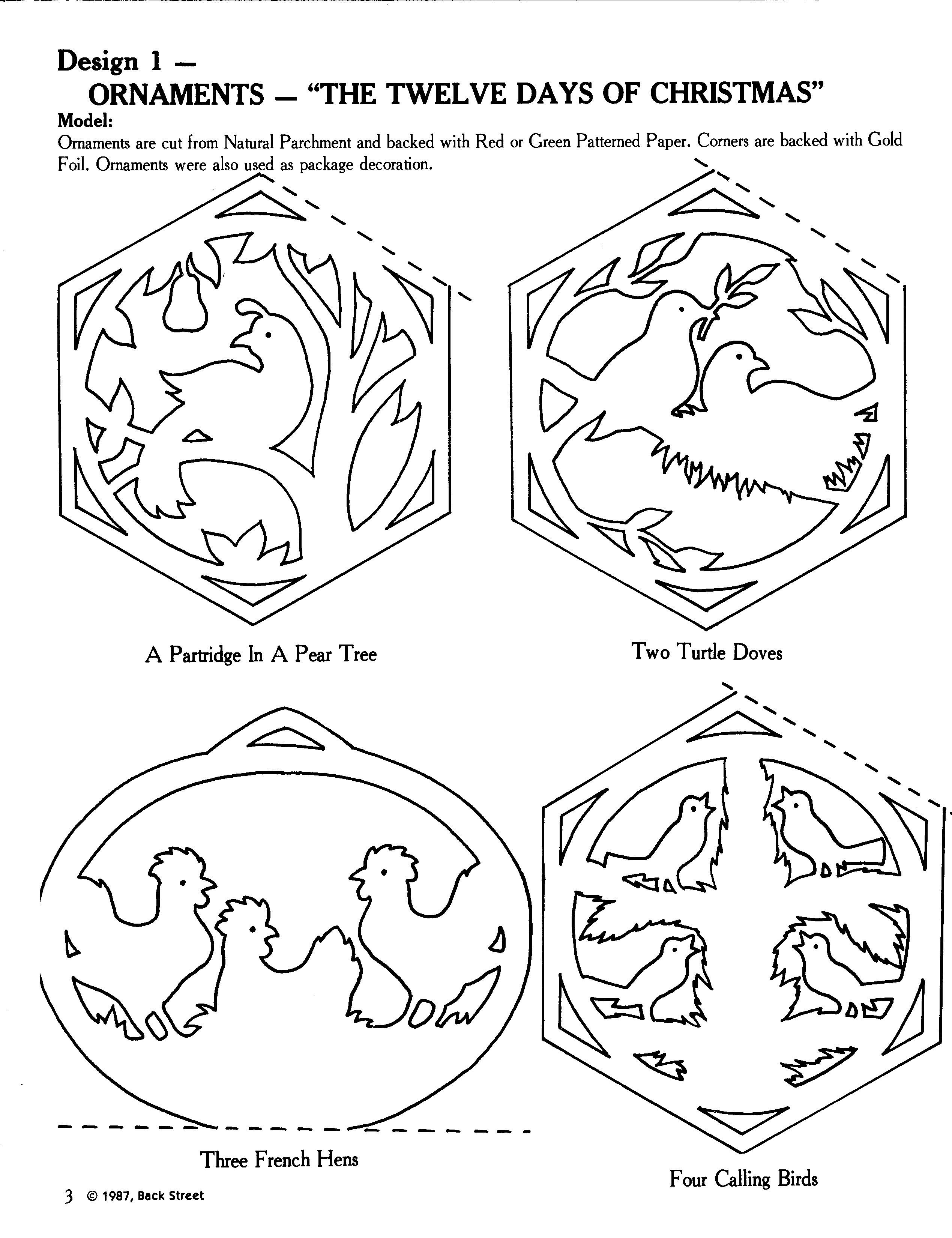 Click image for largest version available scroll saw patterns