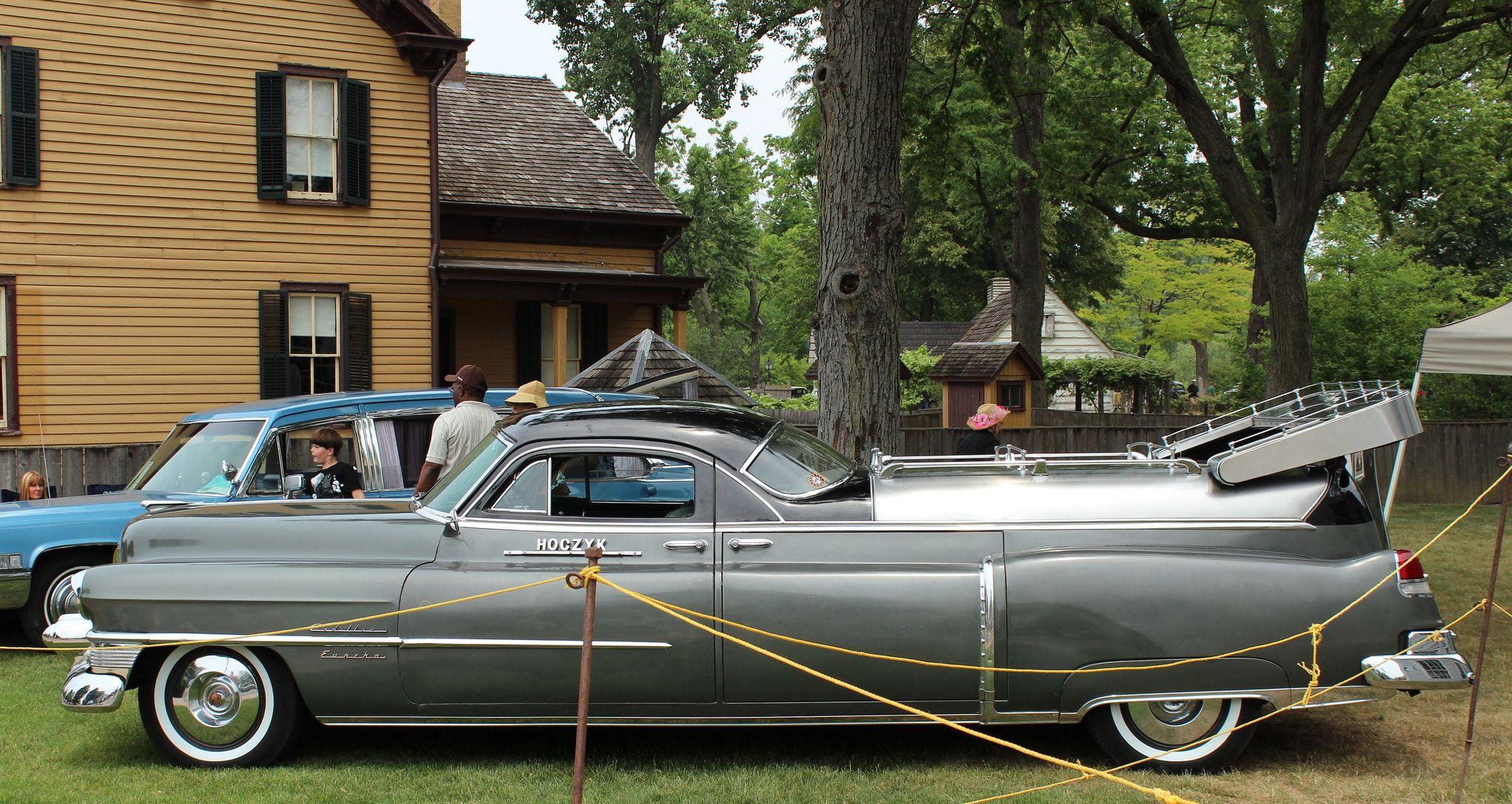 1953 Cadillac Eureka Flower Car Hearse Pinterest Cars