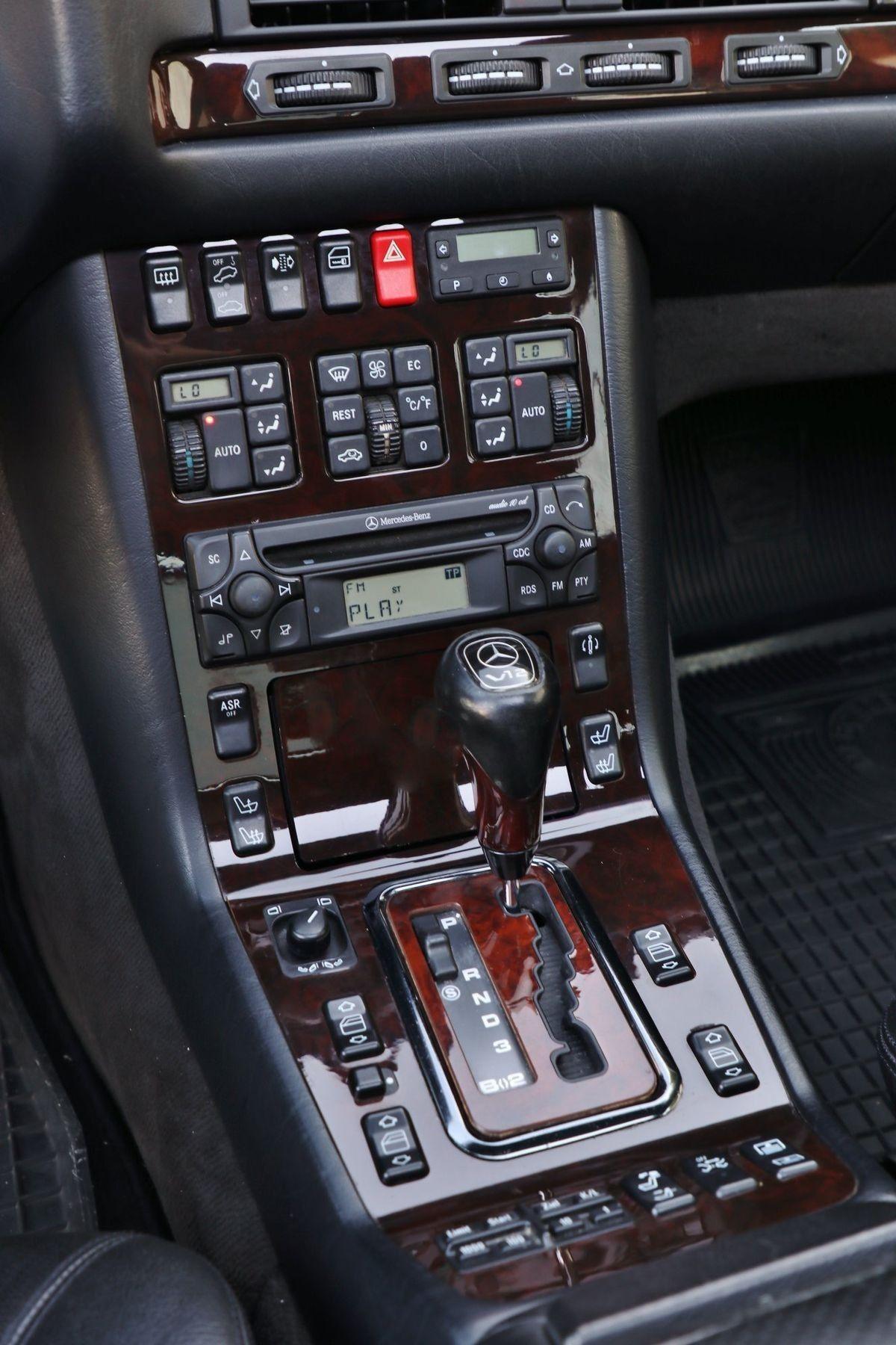 A Fully Loaded Mercedes Benz W140 Mercedes Interior Mercedes