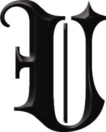 Gothic U Lettering Letter Stencils Letter U