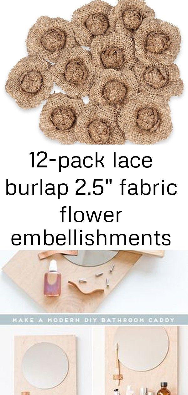 12-pack lace burlap 2.5