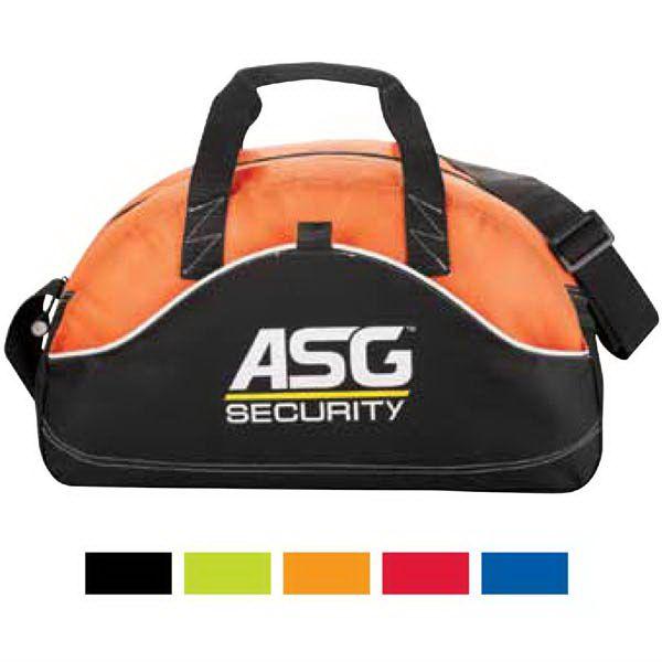 c5bb613f8315 Boomerang 18 Sport Duffel Bag...600d polycanvas and diamond non-woven sport  duffel bag. Main zippered compartment. Front main pocket and pen loop.