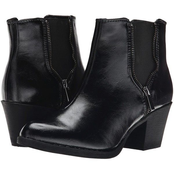Charles Albert Womens SP-Chelsea Black - Boots