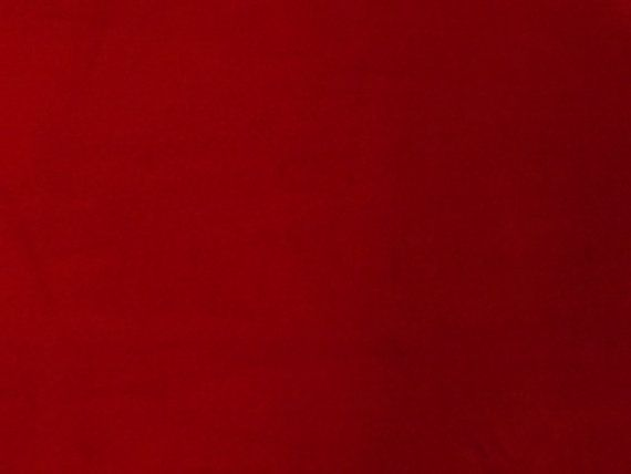 Luxury Quality Red 100% Cotton Velvet Velour Fabric for Upholstery Heavy Weight Thick Curtain Drapery Material Sold Per Yard 54 inch Wide