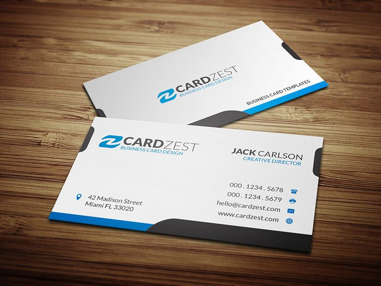 Download Httpcardzestcomsimpleandcleanwhitebusiness - Simple business card templates