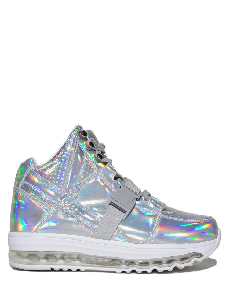 02193f1fc47 QOZMO AIIRE - LIGHT UP HOLOGRAM High Top Holographic Shoes