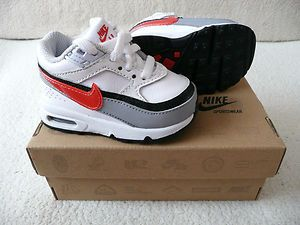 560842d093 Nike Air Max Classic BW Baby Boys/Infant Trainers Size C3 6-9 Months  New/Boxed