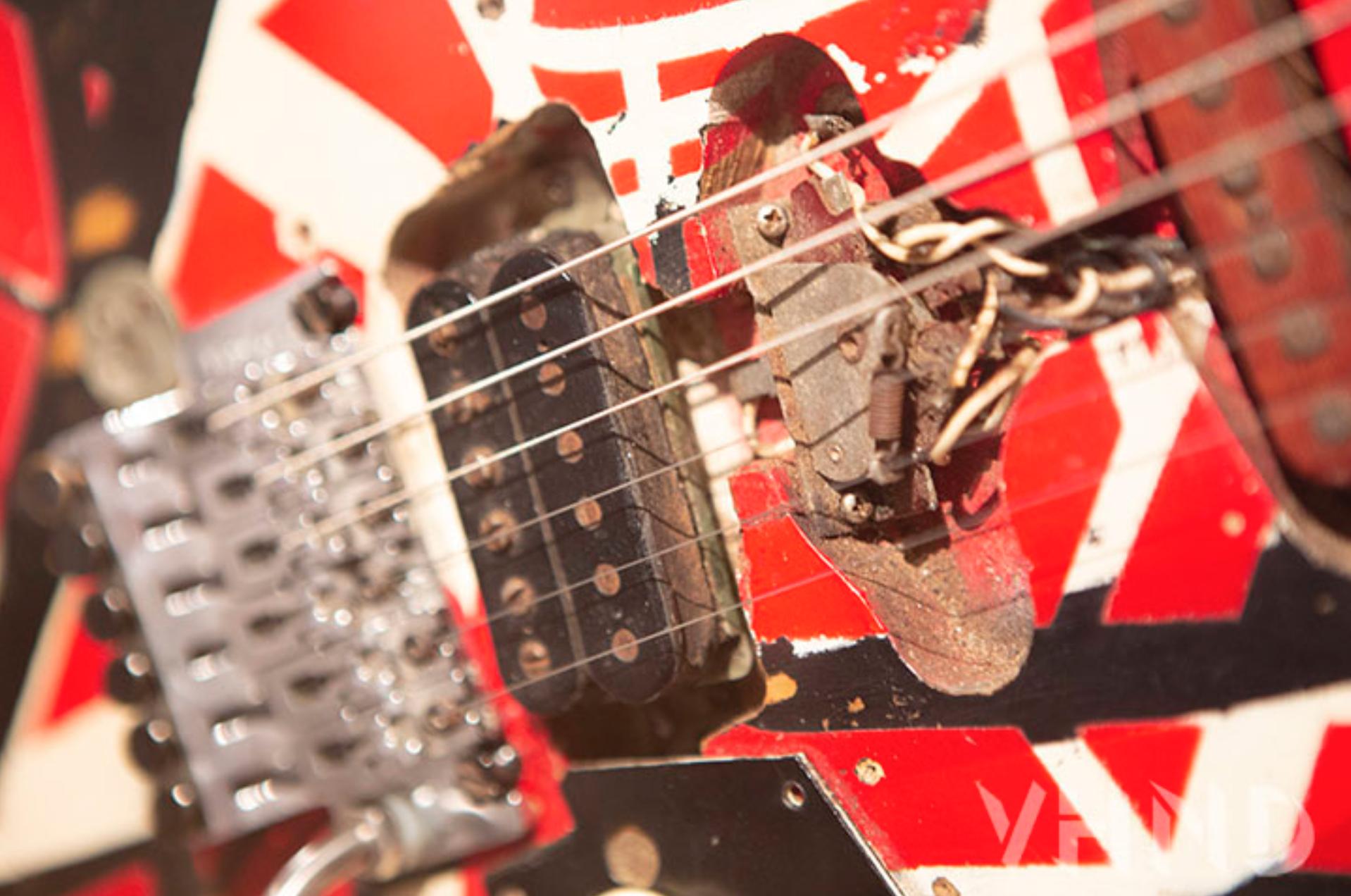 Eddie Van Halen S Original 1975 Frankenstein Guitar Van Halen Guitar Eddie Van Halen