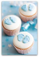Ordinaire Baby Shower Cupcakes :) A Beautiful Simple Baby Cupcake :) You Can Find The