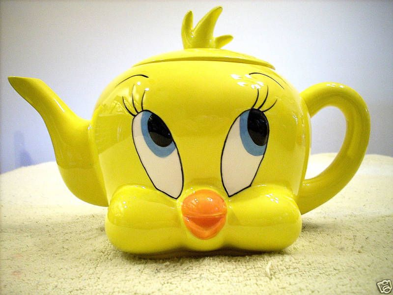 WARNER BROS. TWEETY BIRD TEAPOT 1997 | Collectibles, Animation Art & Characters, Animation Characters | eBay!