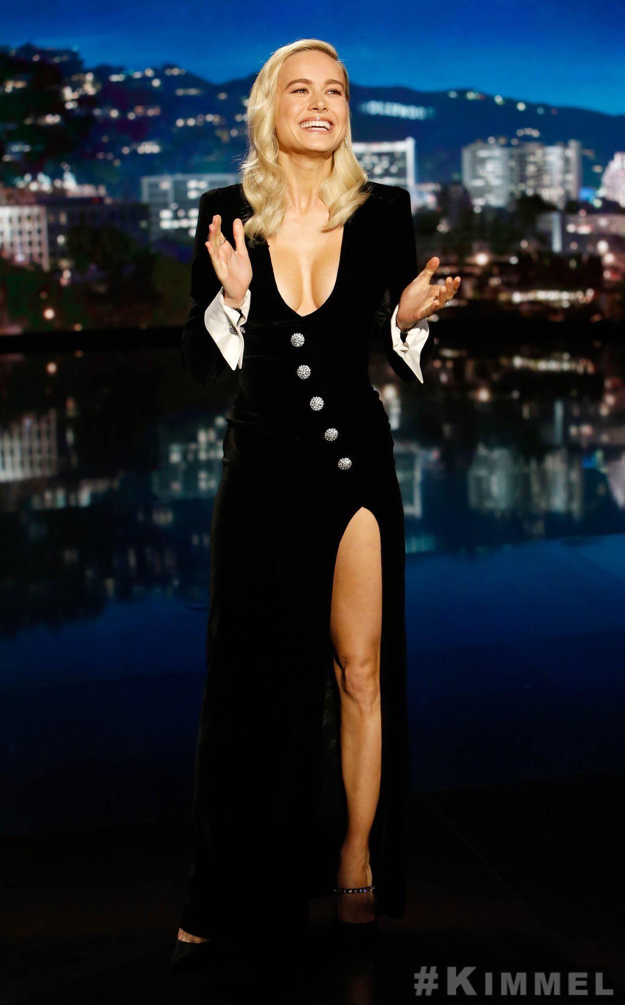 22++ Brie larson jimmy kimmel dress information