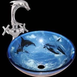 Pin By Eliza On New Room Ideas Dolphin Bedroom Dolphins Glass Sink