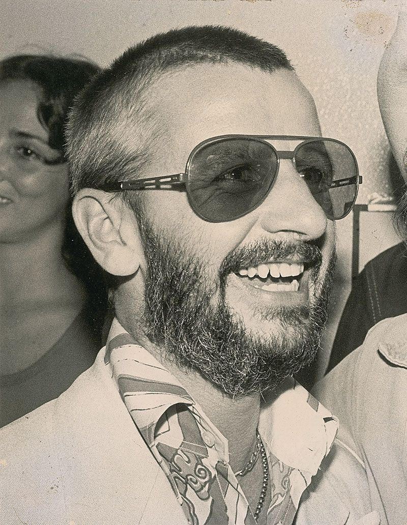 Ringo Starr With Sunglasses