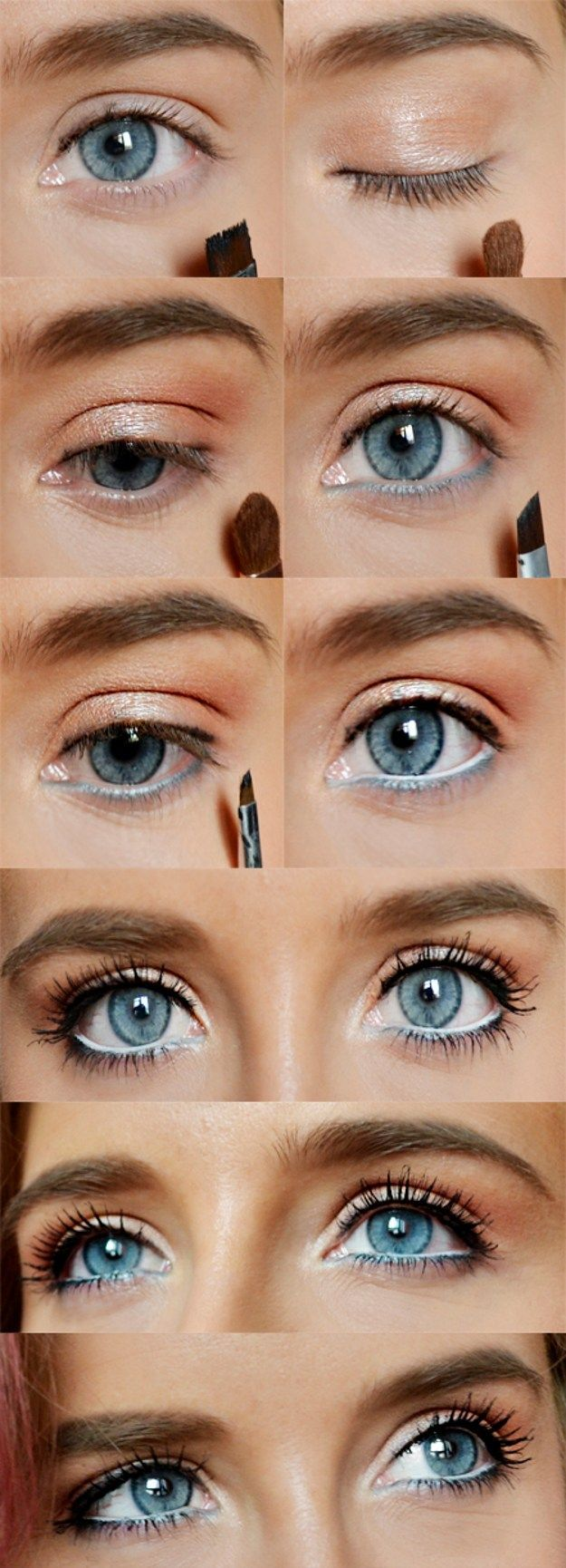For blue eyes for striking beautiful looks spring make up blue for blue eyes for striking beautiful looks baditri Choice Image