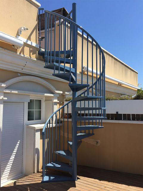 PINTAecològic: Pintura de protección de escalera metálica de ...