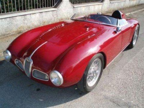 One-Off Alloy Body: 1955 Alfa Romeo Barchetta