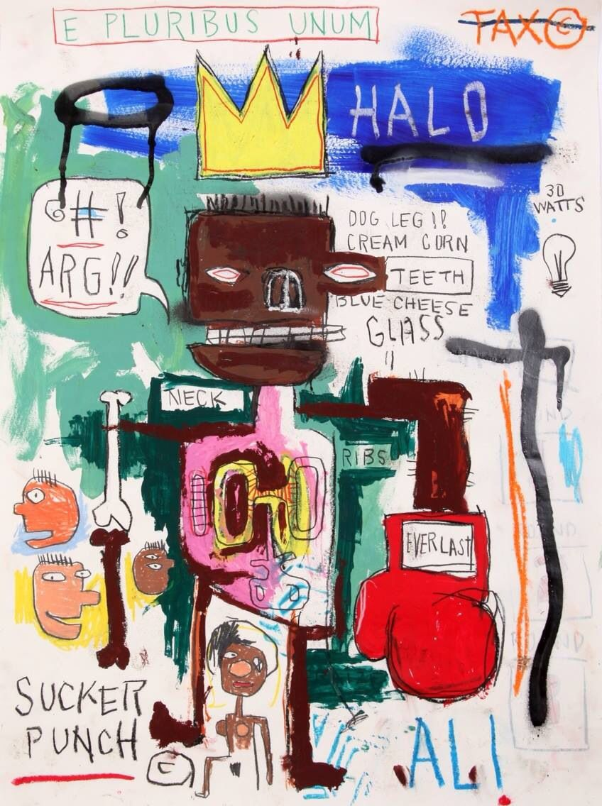 ALI FRAZIER | Jean michel basquiat, Basquiat, Jean michel