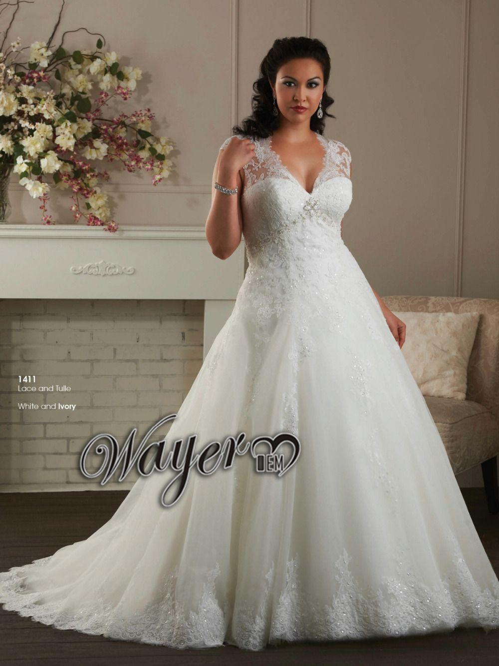 Find more wedding dresses information about elegance cap sleeve