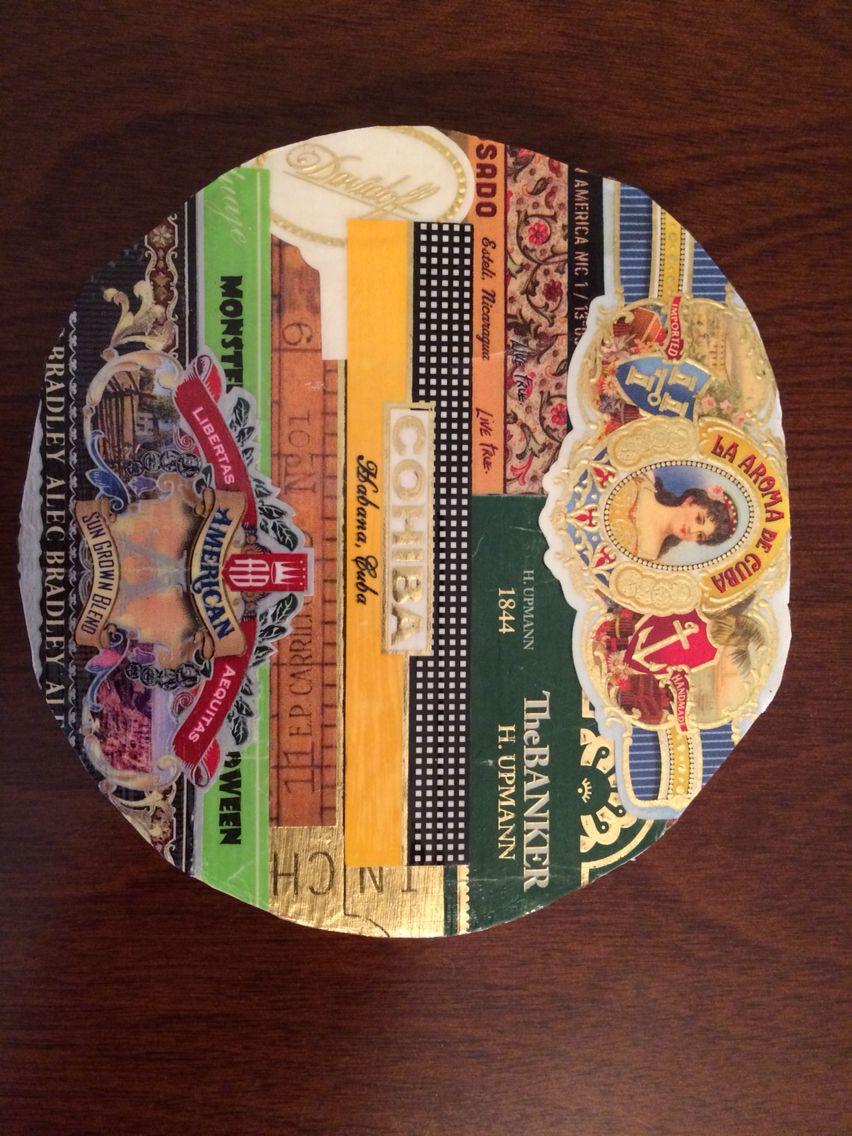 Custom made Cigar Band Coaster #2 of 4